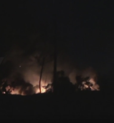 Explozii la o baza militara din Damasc. Armata siriana a acuzat Israelul ca a lansat bombardamente. VIDEO