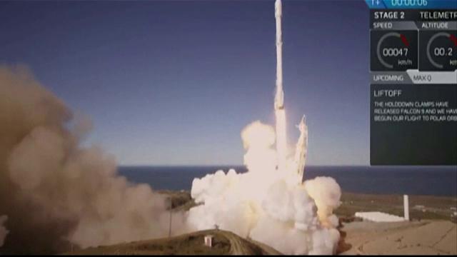 Space X, lansare reusita a unei rachete in spatiu, dupa explozia din septembrie anul trecut. Ce rol va avea Falcon 9.