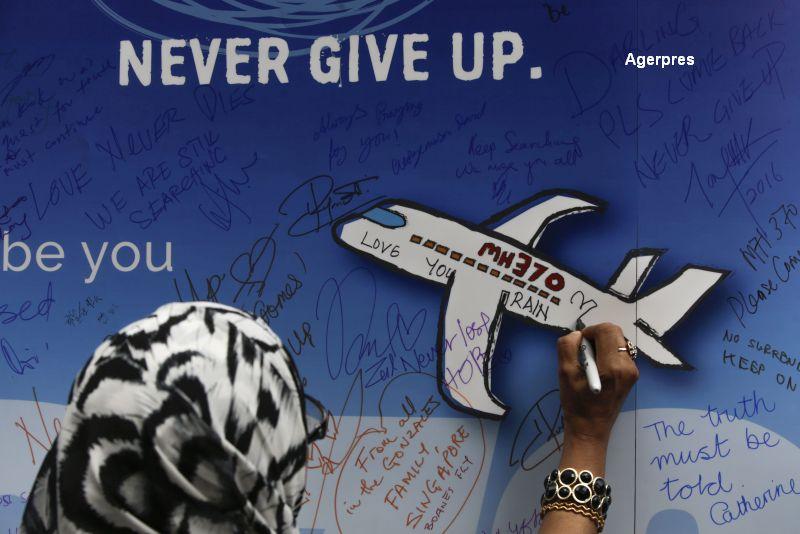 Zborul MH370. Malaysia propune recompensarea grupurilor private care vor descoperi ramasitele avionului