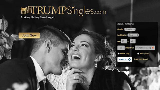 Site-ul de intalniri unde toti utilizatorii trebuie sa tina cu Trump.
