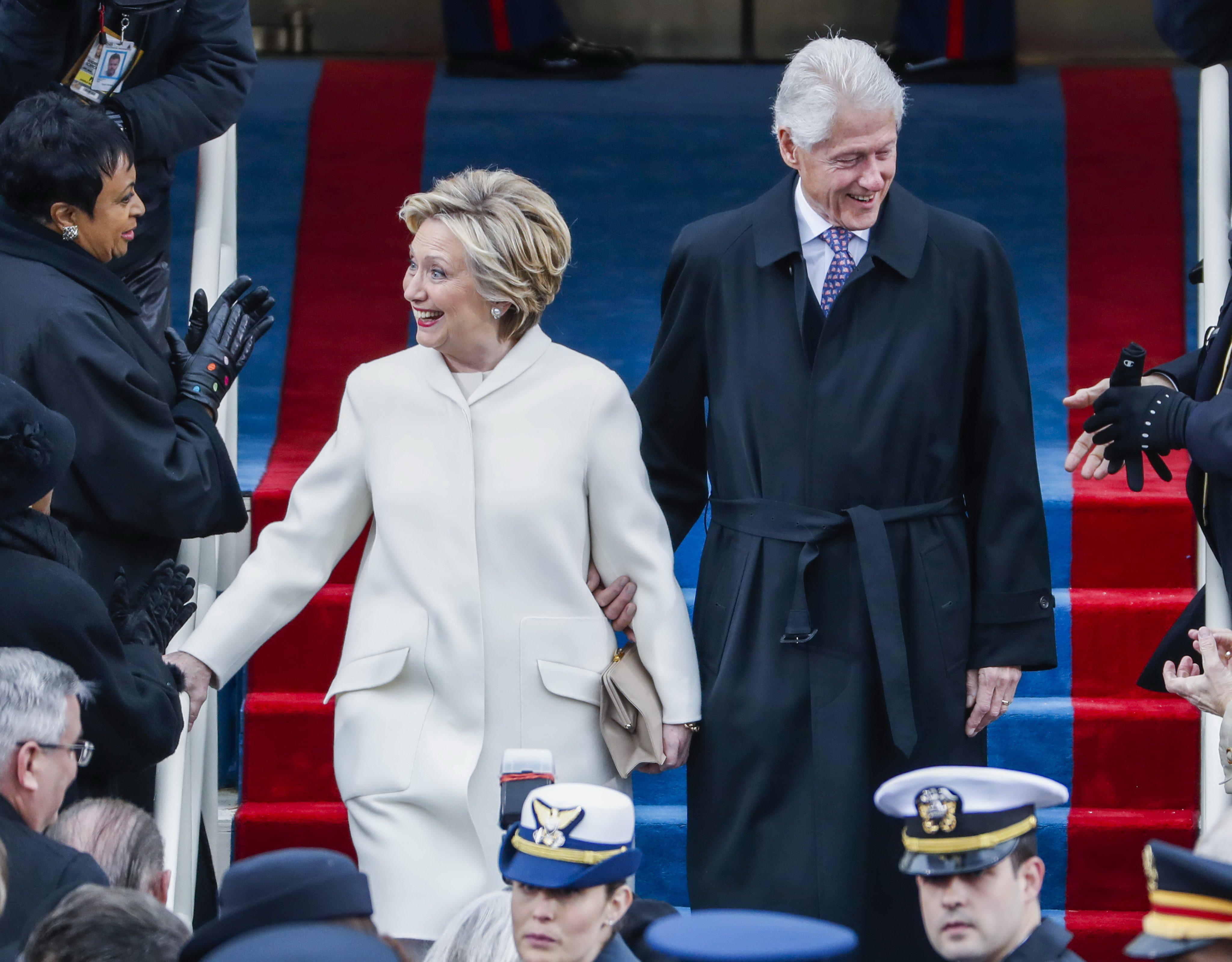 Trump i-a adus un omagiu lui Hillary Clinton in Congresul american: