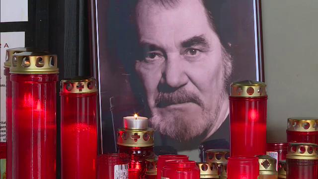 Actorul Ion Besoiu a fost inmormantat cu onoruri militare la Cimitirul Bellu.