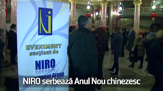 (P) Niro a serbat la Ateneul Roman Anul nou Chinezesc - anul Cocosului de foc