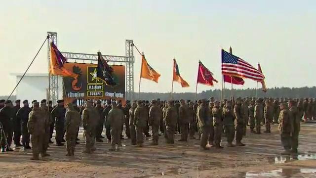 Cea mai mare desfasurare de trupe americane in Europa de Est de dupa Razboiul Rece: