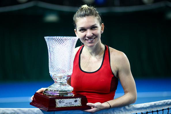 """Simona Halep a câștigat finala de la Shenzhen: """"Visul meu este să câștig un Grand Slam"""""""