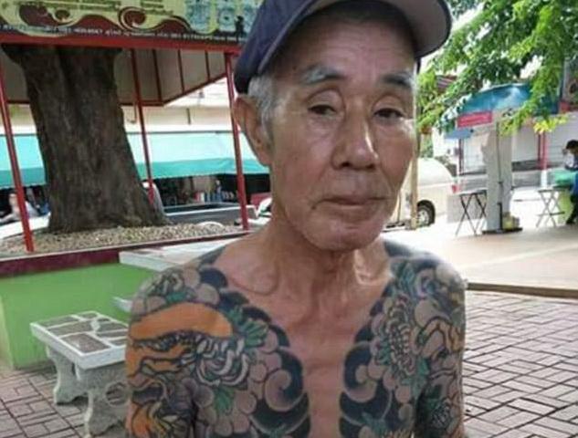 Fost lider al grupării mafiote Yakuza, arestat după 14 ani de fugă. Tatuajele l-au dat de gol