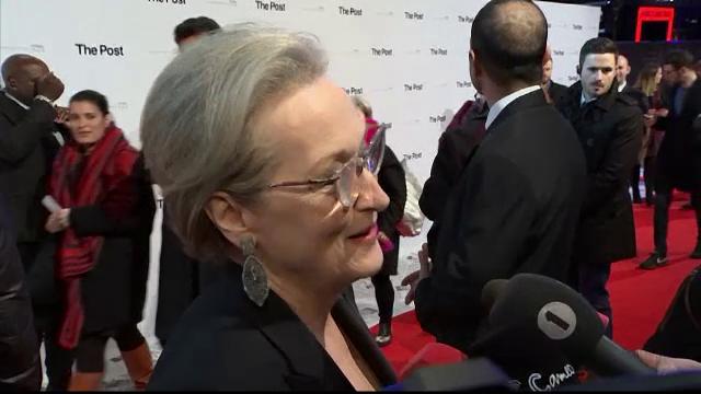 """Meryl Streep și Tom Hanks apără libertatea presei, într-un film despre """"Washington Post"""""""