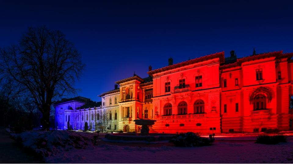 Palatul Cotroceni va fi iluminat în culorile drapelului de Ziua Unirii Principatelor Române