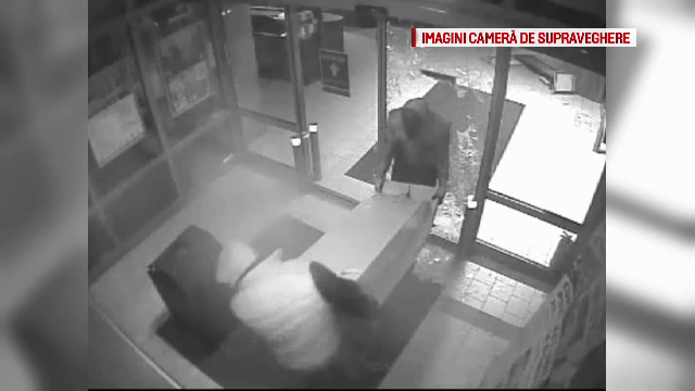 Cazul hoților de bancomate. Imagini spectaculoase date publicității de Poliție