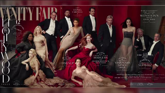 Vanity Fair a dus Photoshop la un nou nivel. Vedetele de pe copertă au membre în plus