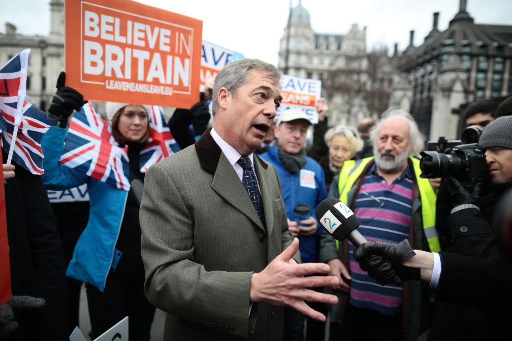 Nigel Farage, promotor al Brexitului, susține că va avea loc un nou referendum în UK