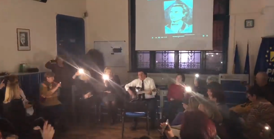 Nicolae Robu, moment artistic de ziua lui Mihai Eminescu. VIDEO