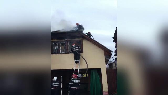 Incendiu la un centru de plasament din Oradea. Ce s-a întâmplat cu copiii