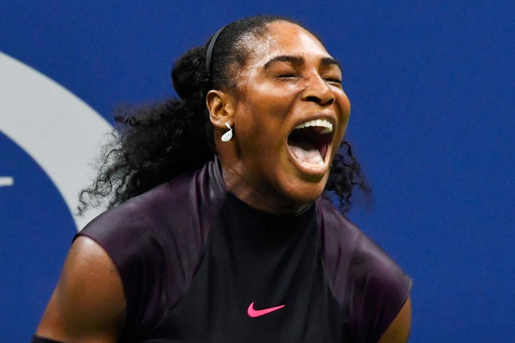 """Serena Williams a făcut o jucătoare să plângă pe teren. Halep """"gândește pozitiv"""""""