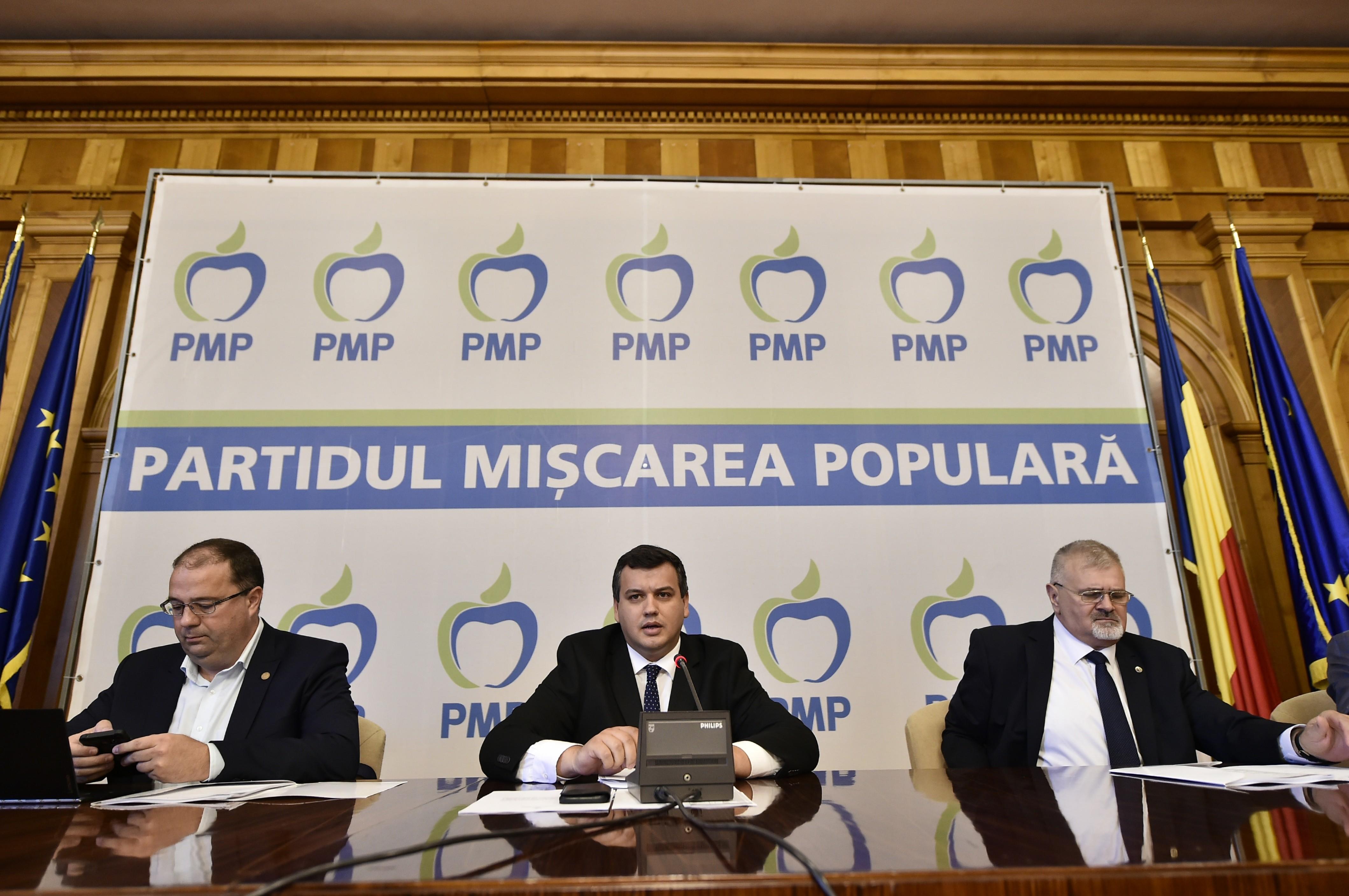 Preşedintele PMP, după europarlamentare: