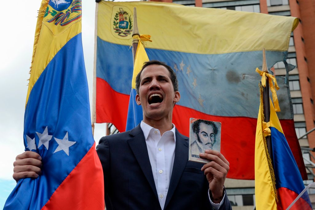 Liderii statelor UE îl recunosc, oficial, pe Juan Guaido drept președinte interimar al Venezuelei