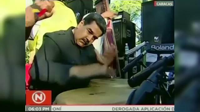 Maduro sfidează Europa, cât și pe oponenții săi politici. Ce a făcut la un eveniment. VIDEO