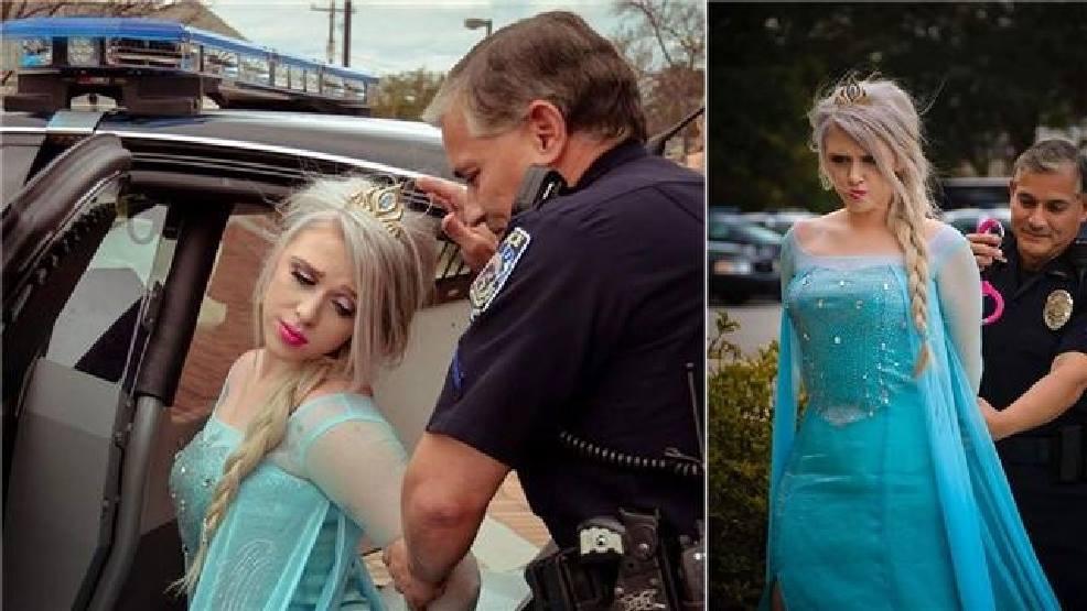 """Elsa, regina """"Regatului Înghețat"""", arestată pentru că a adus vortexul polar în SUA"""