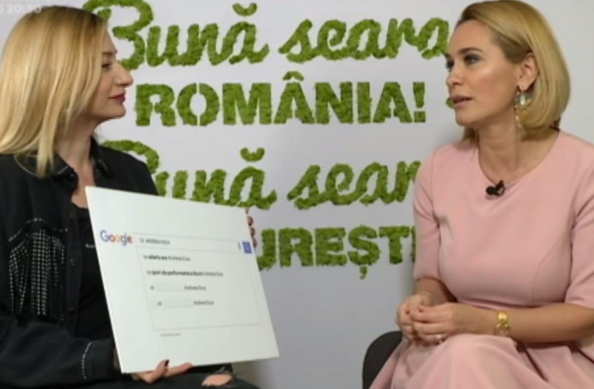 Andreea Esca a răspuns întrebării legate de salariul pe care îl câştigă la Pro TV