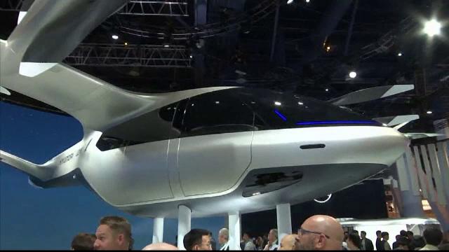 Târgul de tehnologie CES 2020. Avionul-taxi și toaleta inteligentă cu boxe încorporate