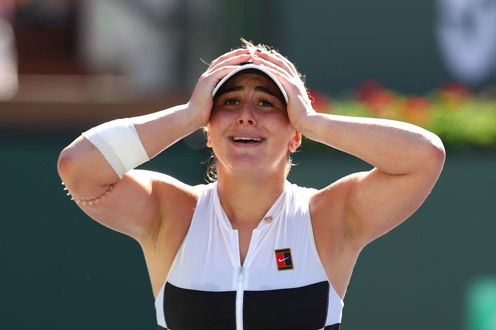 Bianca Andreescu a anunţat că nu va mai juca în acest an