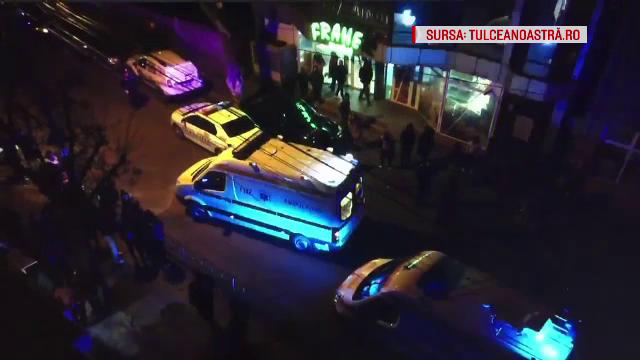Adolescenți înjunghiați în fața unui supermarket din Tulcea, din cauza unei biciclete