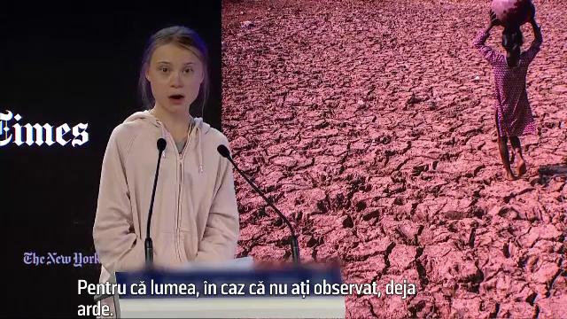 Greta Thunberg va prezenta în faţa Comisiei Europene viziunea sa asupra mediului