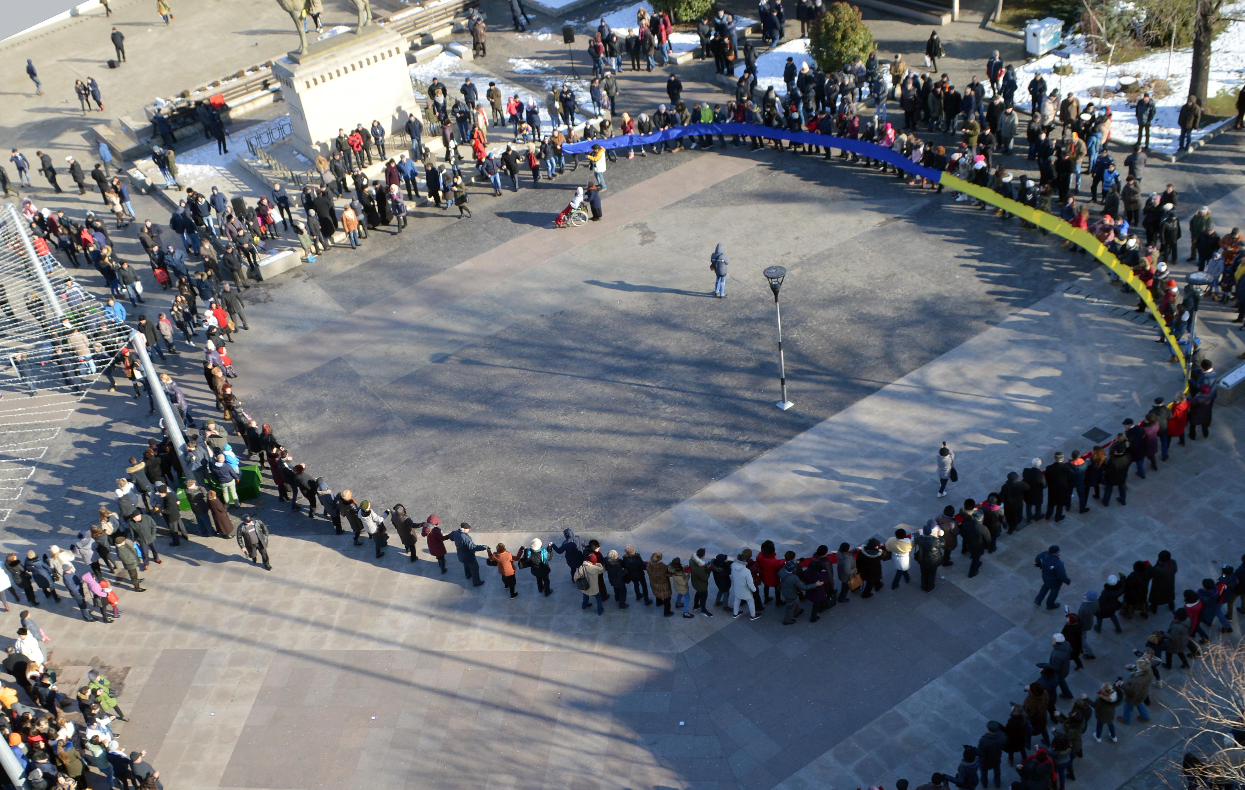 Situație fără precedent. Mica Unire, sărbătorită separat la Focșani