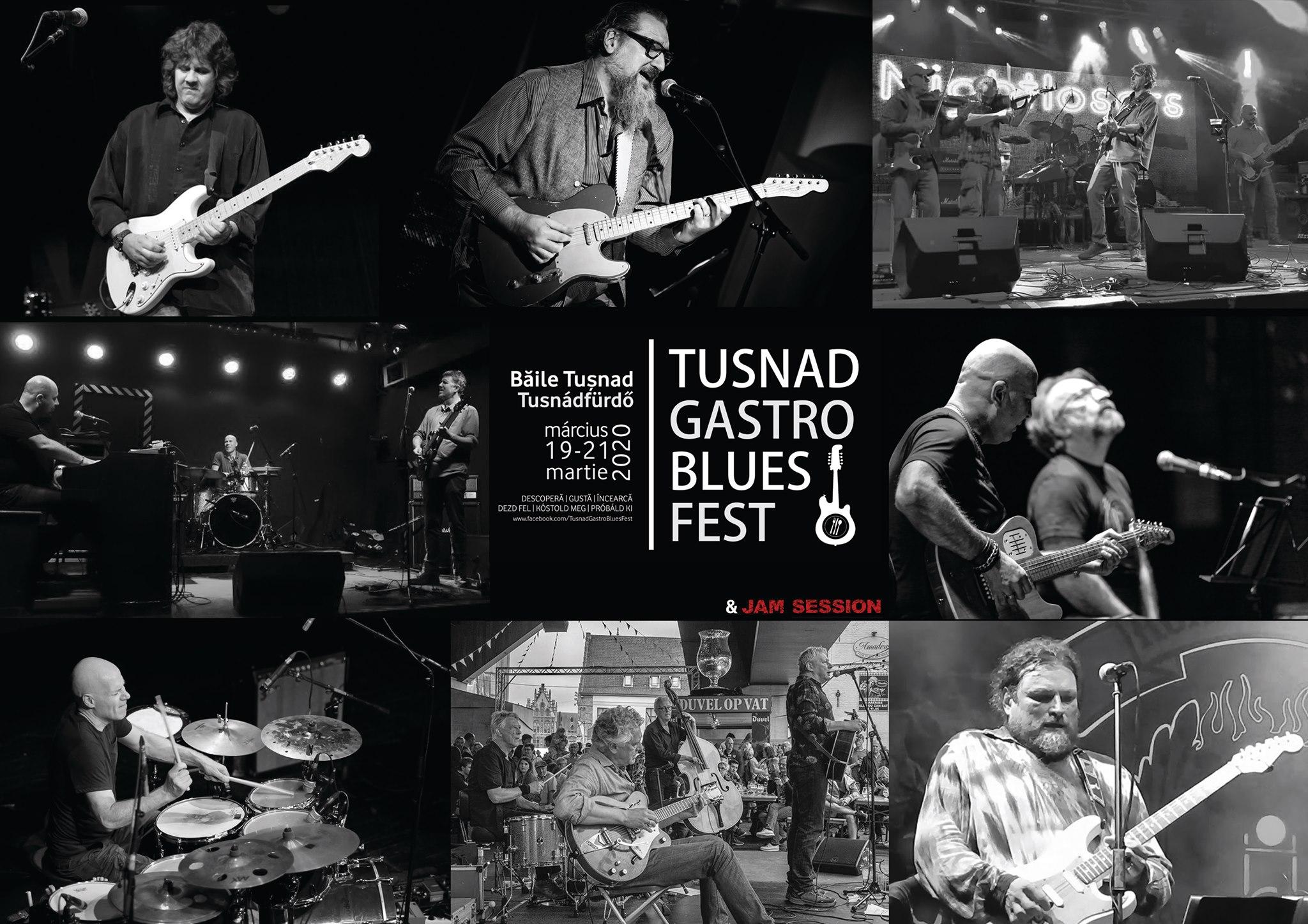 Tușnad Gastro Blues Fest 2020. Mâncăruri alese și concerte cu AG Weinberger, Nightlosers