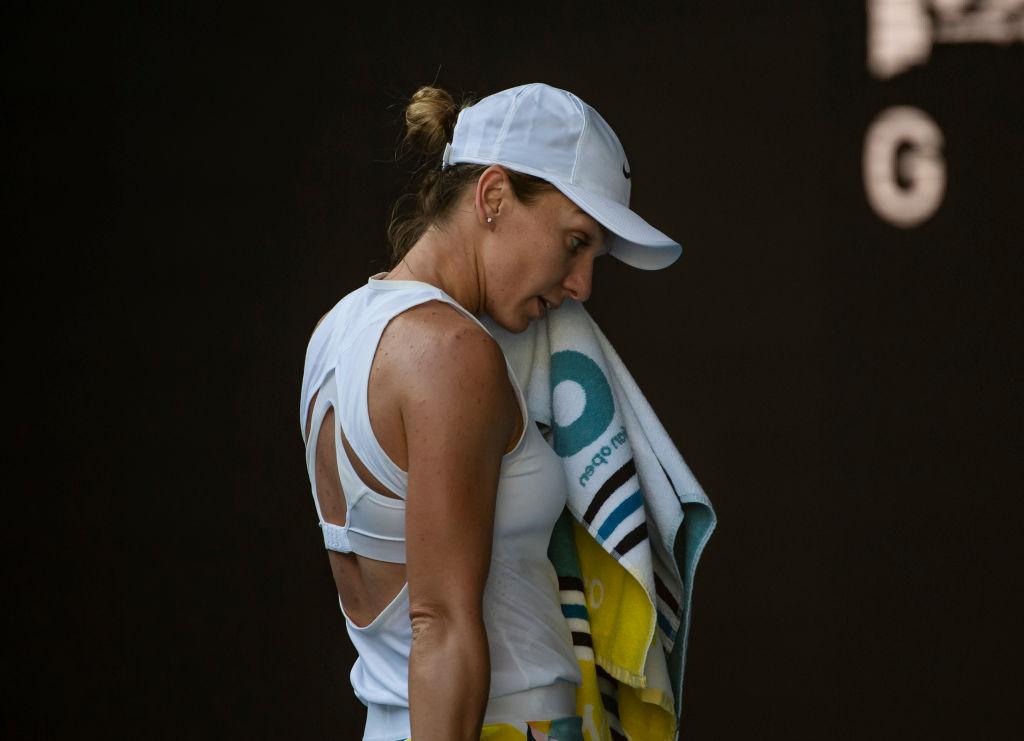 Simona Halep s-a retras din turneul de la Doha