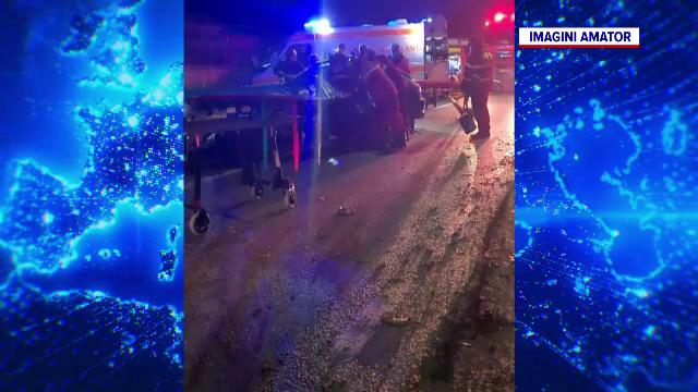 Grav accident de circulație în județul Cluj. 4 femei, rănite, după ce o șoferiță nu s-a asigurat