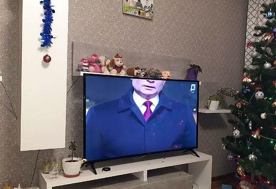 """Capul președintelui rus Vladimir Putin a fost """"tăiat"""" în timpul unui discurs de Revelion: """"Cei vinovați vor fi pedepsiți"""""""