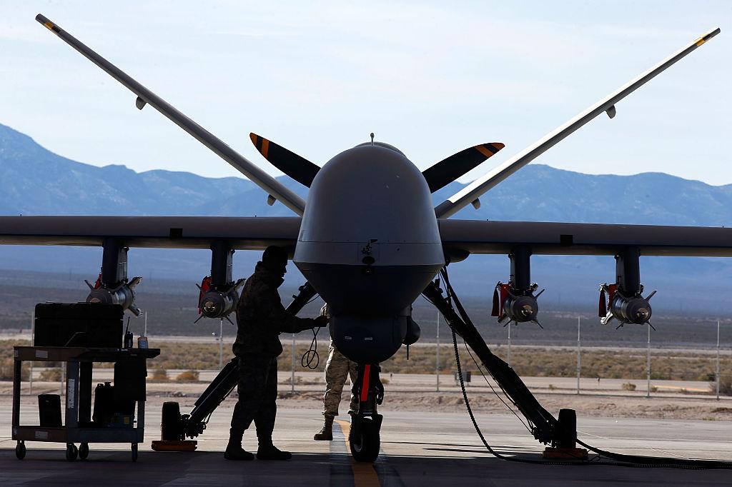 Trupe ale Forţelor Aeriene ale SUA, dotate cu aeronave MQ-9 Reaper, au fost dislocate la Câmpia Turzii