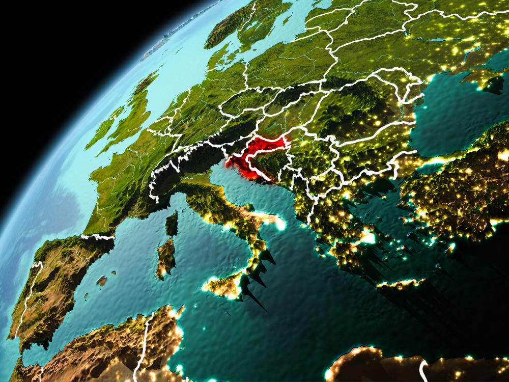 Imagini din satelit arată impactul cutremurului din Croația. Solul a coborât cu 10 cm în Petrinja