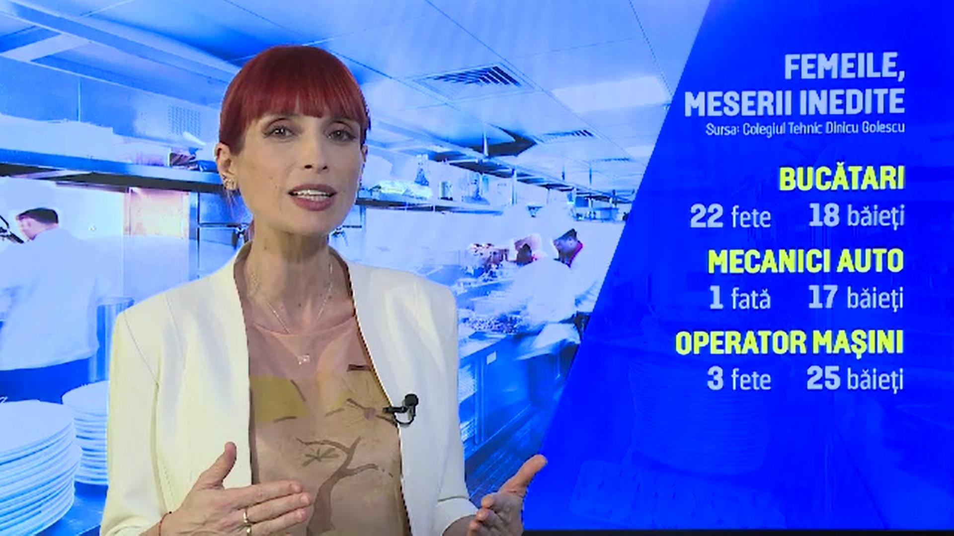 Femeile din România fac tot mai des carieră în domenii cândva rezervate bărbaţilor
