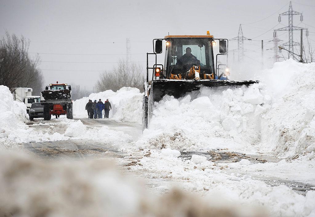 Media istorică a temperaturilor lunii ianuarie în România. Anul în care au fost -38,5 grade Celsius