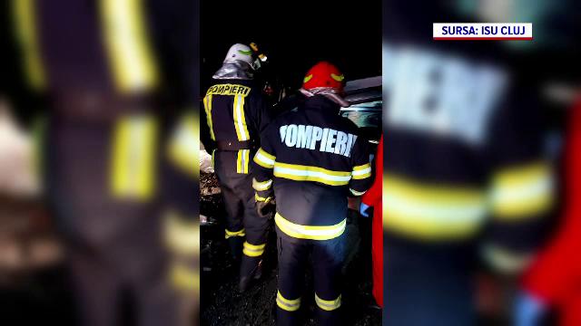 Un tânăr de 28 de ani din Cluj a murit în urma unui accident violent