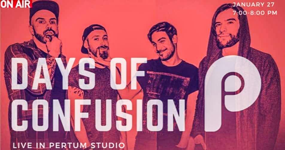 Trupa Days of Confusion va susține un concert care va putea fi urmărit gratuit pe Facebook
