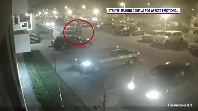 Imagini șocante în Oradea. Un fost polițist și-a înjunghiat fosta soție într-o parcare, fără ca nimeni să intervină