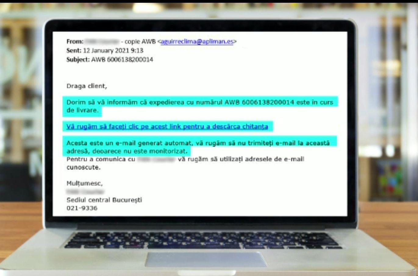 Se înmulţesc escrocheriile online. Mesajul de la