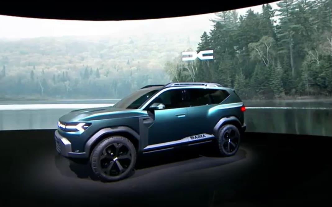"""Dacia a prezentat Bigster, conceptul unui model SUV de 4,6 metri lungime. """"Este un design care uimește"""""""