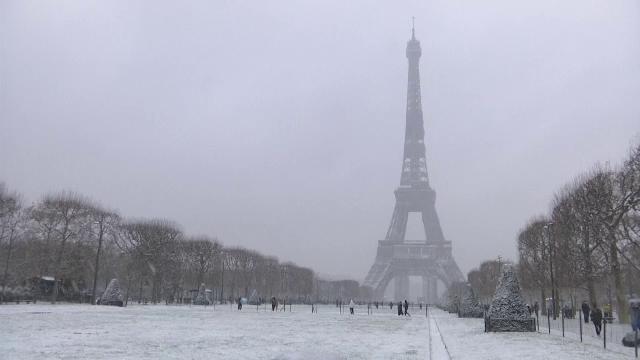 Europa, la al doilea episod sever de ninsori. Zăpezi de un metru și frig polar în mai multe capitale