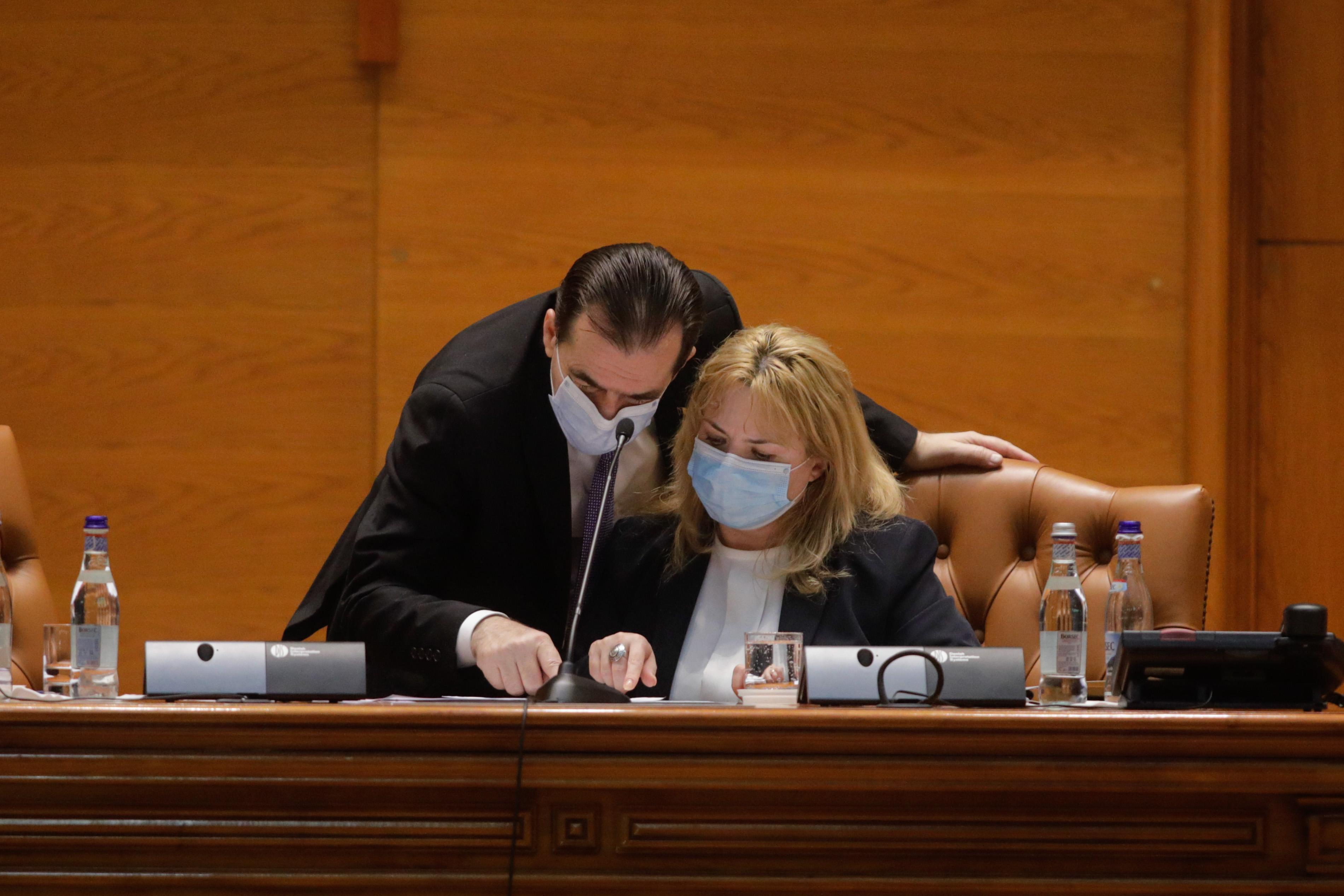 Orban și Dragu au convocat plenul Parlamentului pentru prezentarea moțiunii de cenzură