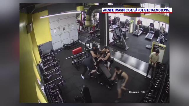 VIDEO. Momentul bătăii din sala de fitness, care a dus la uciderea unui tânăr de 19 ani