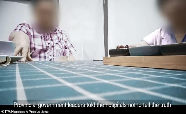 Medicii din Wuhan recunosc că au fost obligați să ascundă epidemia. Filmare cu camera ascunsă