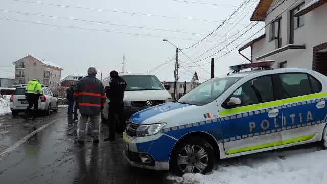 Un muncitor din Bistrița a fost rănit în timpul unei explozii produse la o stație de gaz