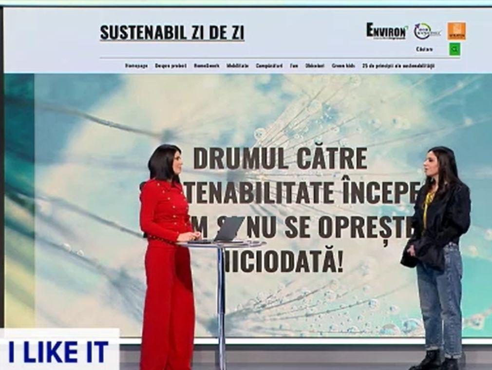 Sustenabilitatea, explicată în emisiunea ILikeIT. Este moștenirea generațiilor viitoare