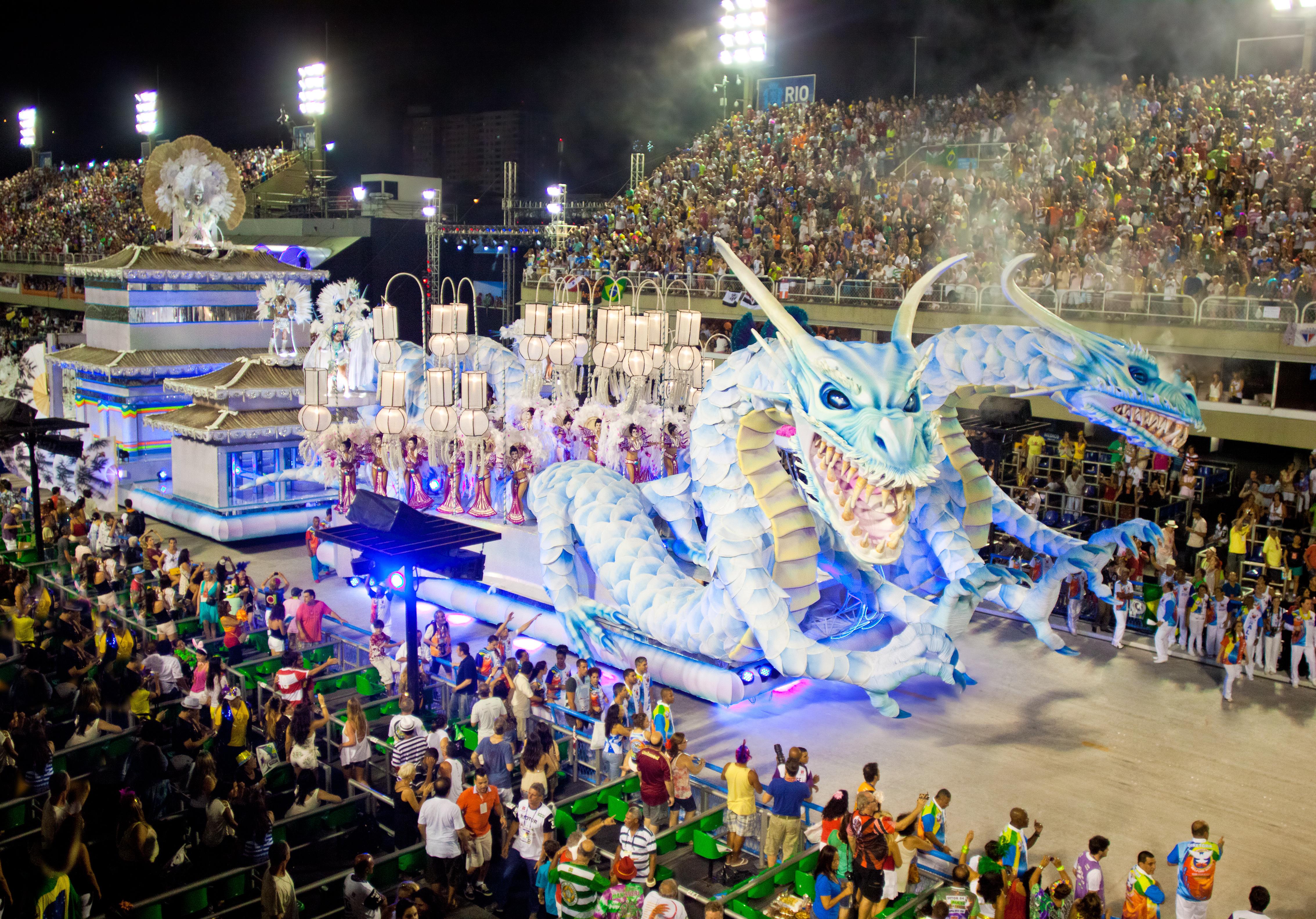 Celebrul Carnaval de la Rio a fost anulat în 2021 din cauza pandemiei de COVID-19
