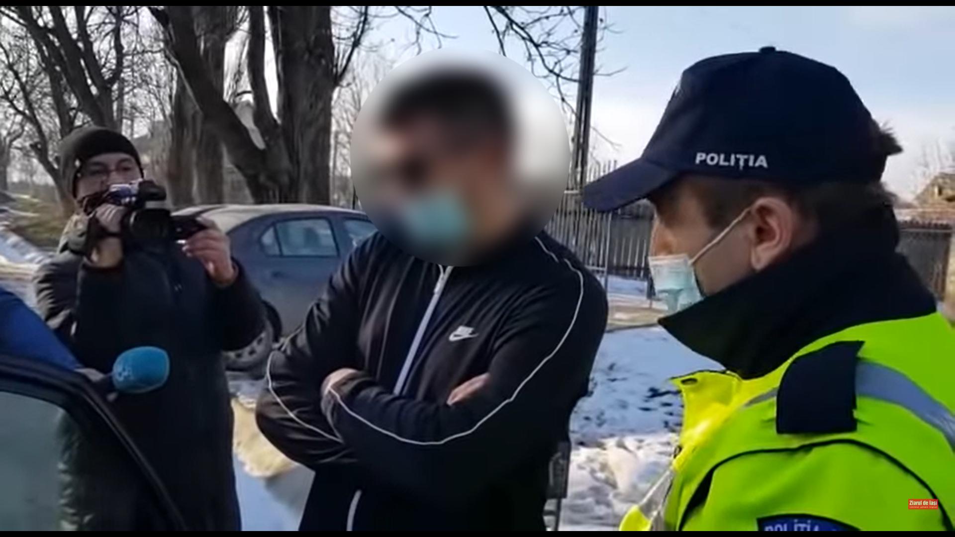VIDEO. Cel mai sincer dealer de droguri. Ce le-a spus polițiștilor când a fost oprit în trafic