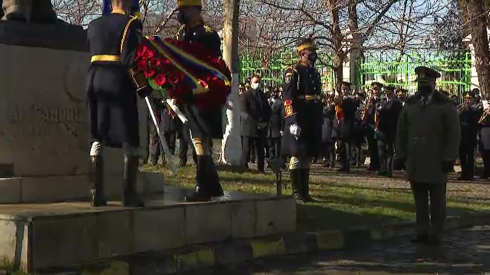 Ceremoniile dedicate Unirii Principatelor Române au fost mai restrânse ca niciodată